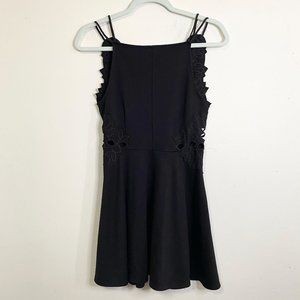 FREE PEOPLE Strappy Cut Out Skater Dress